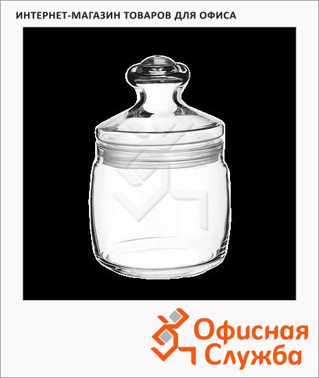 фото: Банка для сыпучих продуктов Pasabahce Cesni 0.94л стекло, с плотно прилегающей крышкой