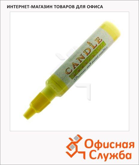 фото: Воск для свечей Marvy М111 желтый 0.5-3мм, жидкий
