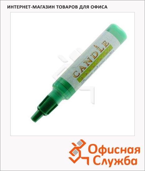 фото: Воск для свечей Marvy М111 зеленый металлик 0.5-3мм, жидкий