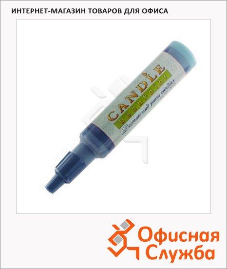 Воск для свечей Marvy М111 синий металлик, 0.5-3мм, жидкий