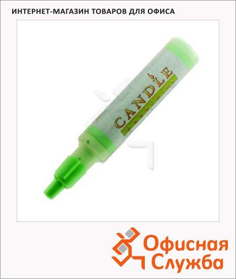 Воск для свечей Marvy М111 неоновый зеленый, 0.5-3мм, жидкий в тубе