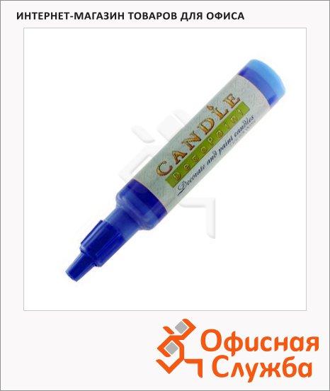 фото: Воск для свечей Marvy М111 синий 0.5-3мм, жидкий
