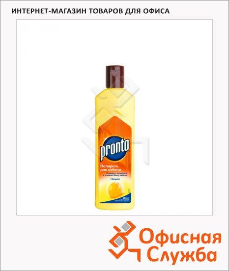 Полироль для мебели Pronto Лимон 0.3л, крем