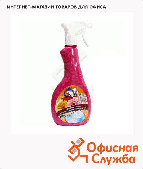 фото: Чистящее средство для сантехники Адрилан 500мл для смесителей и кафеля, с цветочным ароматом, спрей