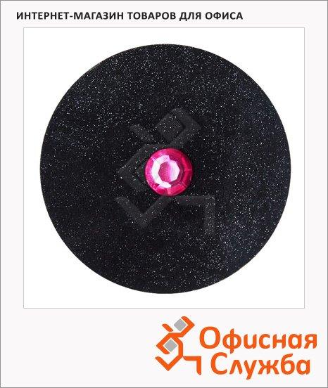 Ластик Brunnen Даймонд d=4см, черный, 27345