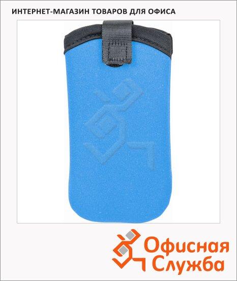 Чехол для мобильного телефона Brunnen голубой, неопрен, 7х13.5см, 68051