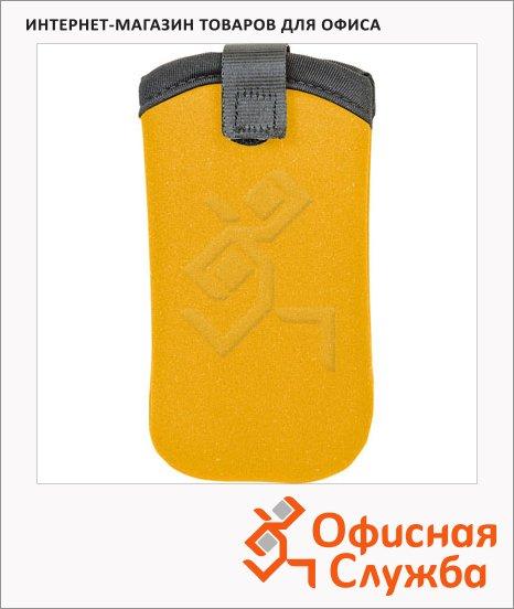Чехол для мобильного телефона Brunnen желтый, неопрен, 7х13.5см, 68051