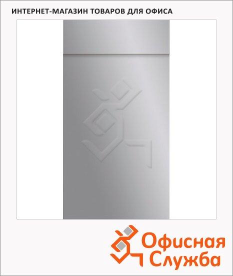 Блокнот Brunnen серый, 6.5х13см, 40 листов, нелинованный, на склейке, с отрывными листами, 55366-92