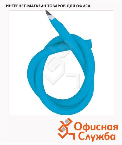 Карандаш чернографитовый Brunnen 29061 С, гнущийся, корпус голубой