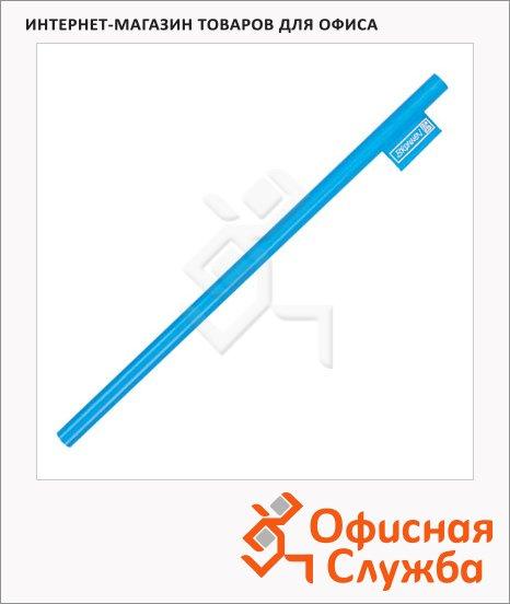 Карандаш чернографитный Brunnen 29060 HB, корпус голубой