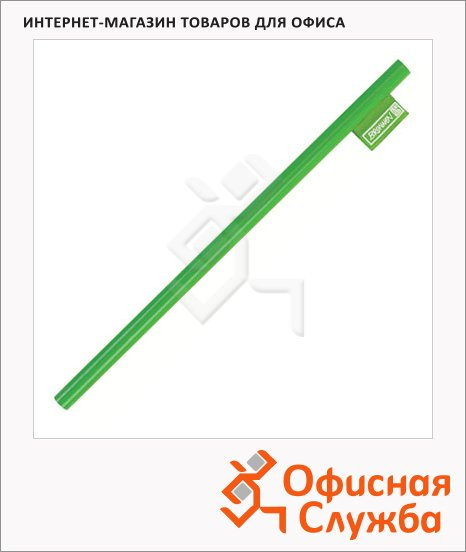Карандаш чернографитный Brunnen 29060 HB, корпус зеленый