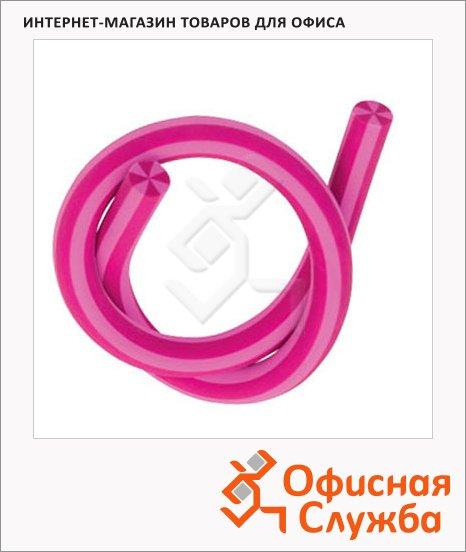 фото: Ластик Brunnen d=1 l=33см, гнущийся, 29970, розовый