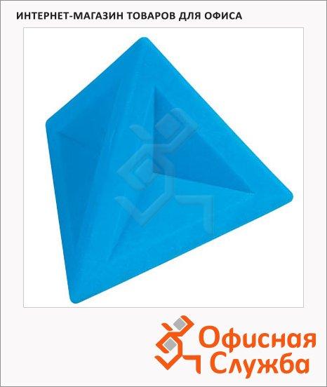 фото: Ластик Brunnen 4.5х4.5х4см треугольный, 29974, голубой