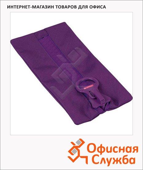 Пенал для девочек Brunnen BigZip, мягкий, фиолетовый