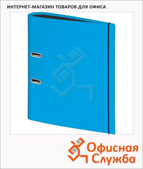 Папка-регистратор А4 Brunnen голубой, 80 мм, 20429-32