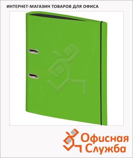 Папка-регистратор А4 Brunnen зеленый, 80 мм, 20429-52