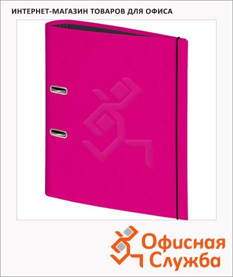Папка-регистратор А4 Brunnen розовый, 80 мм, 20429-26
