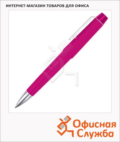 Ручка шариковая Brunnen 29109 розовый корпус, 0.7мм, синий