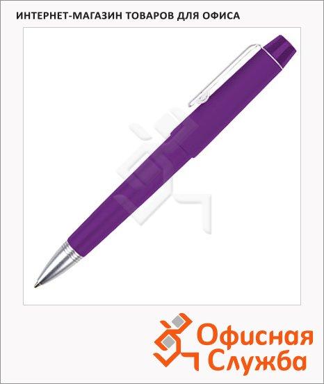 Ручка шариковая Brunnen 29109 фиолетовый корпус, 0.7мм, синий