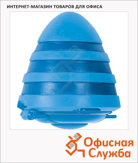 фото: Точилка 29873 2 отверстия с контейнером, волнистая, голубая