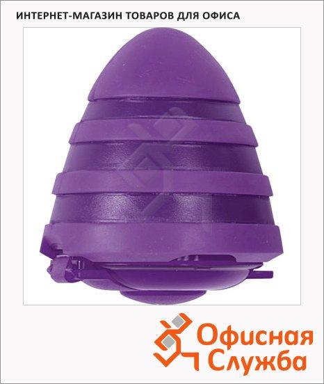 Точилка Brunnen 29873 2 отверстия, с контейнером, волнистая, фиолетовая