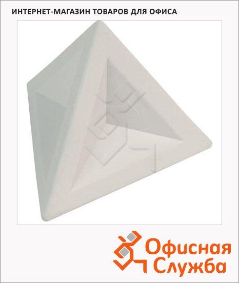 Ластик Brunnen 4.5х4.5х4см, треугольный, 29974, белый