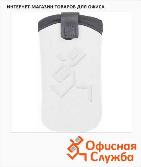 Чехол для мобильного телефона Brunnen белый, неопрен, 7х13.5см, 68051