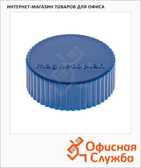 фото: Магниты Magnetoplan Magnum d=34х13мм синие