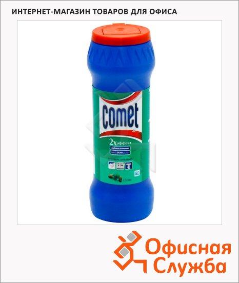 Универсальное чистящее средство Comet Двойной Эффект 0.475кг, порошок, сосна