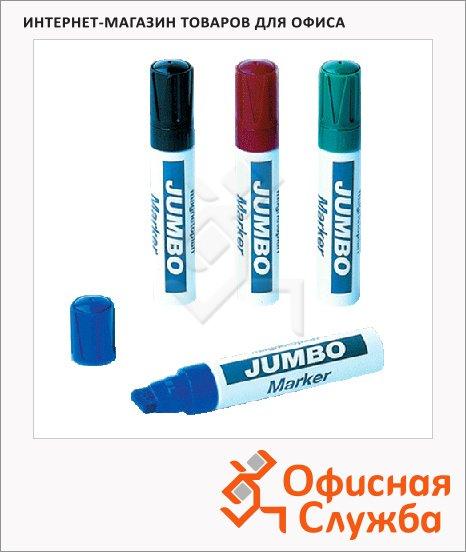 Маркер для досок Magnetoplan Jumbo 4цв/уп, 2-4мм