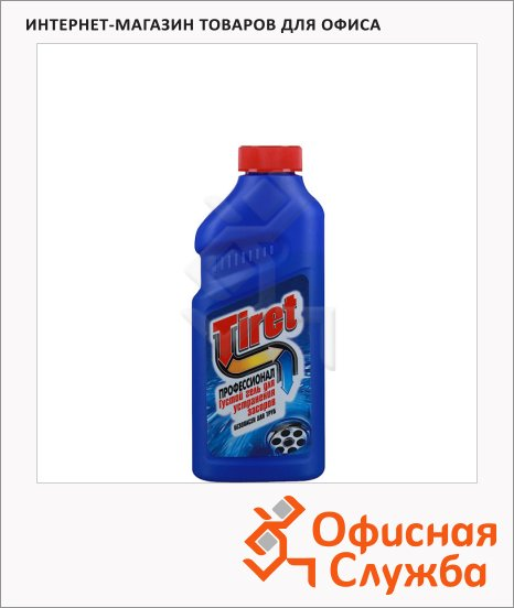 Средство для прочистки труб Tiret Профессионал 0.5л, гель