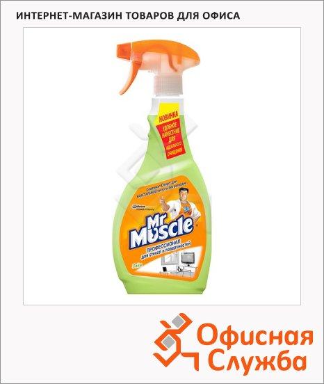 Чистящее средство Мистер Мускул Профессионал 500мл, спрей, лайм, универсальный