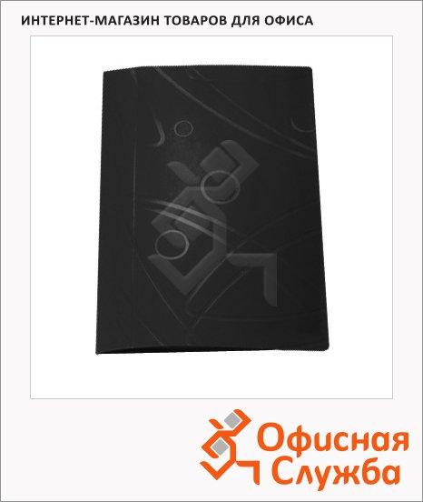 Скоросшиватель пружинный Бюрократ Galaxy черный, А4, GA07PBLCK