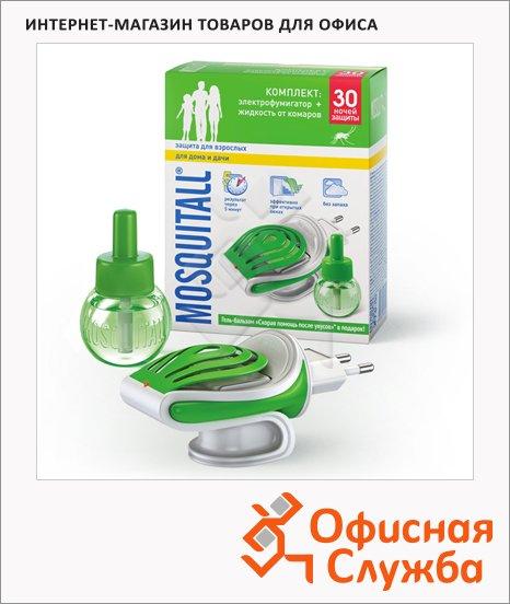 фото: Жидкость для защиты от комаров Mosquitall Защита для взрослых 30мл электрофумигатор и жидкость