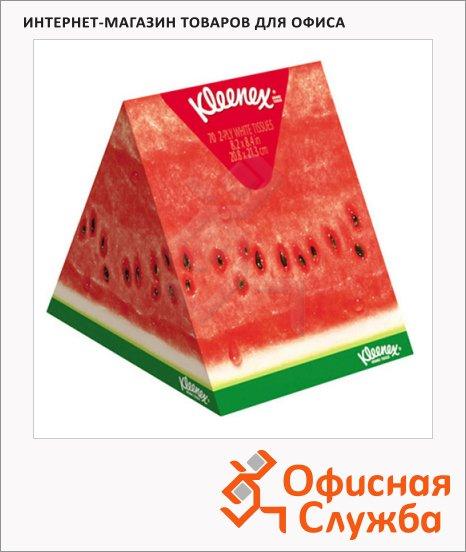 Салфетки косметические Kimberly-Clark Aroma 56шт, 21х20см, арбуз/ апельсин