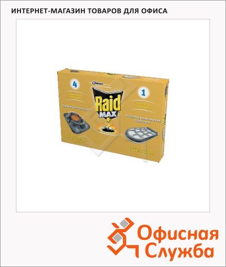 Средство от тараканов Raid Max 4 приманки и 1 регулятор размножения