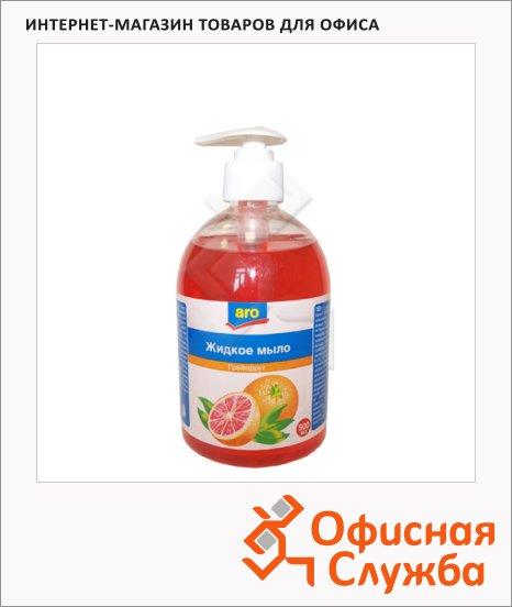 Жидкое мыло Aro 500мл, с дозатором, грейпфрут