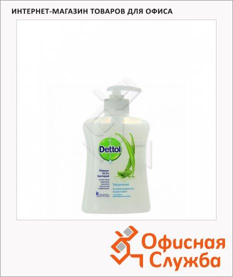 Жидкое мыло наливное Dettol 250мл, алоэ, антибактериальное