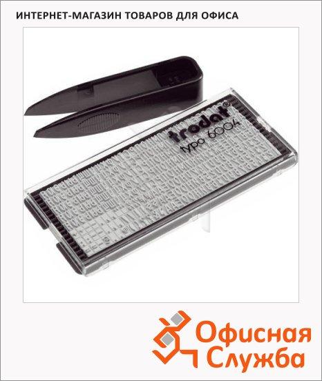 Касса русских букв цифр и символов Trodat 264 символа, 4мм, 6004