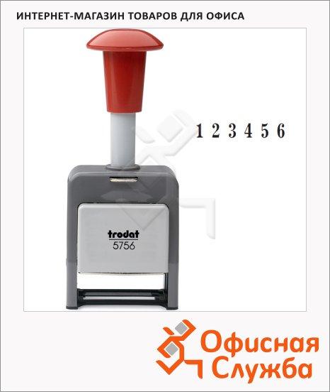 фото: Нумератор с автоматической сменой номера Trodat 6 разрядов 4.5мм, 5756/P