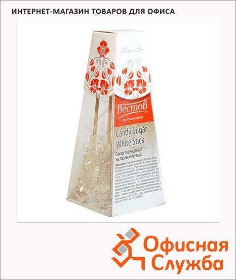 Сахар Вестов леденцовый на палочках, белый, 5шт/уп