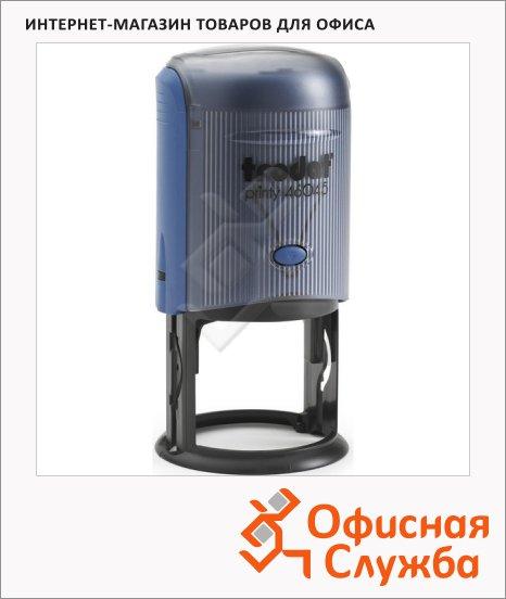 Оснастка для круглой печати Trodat Printy d=45мм, 46045 P3, синяя