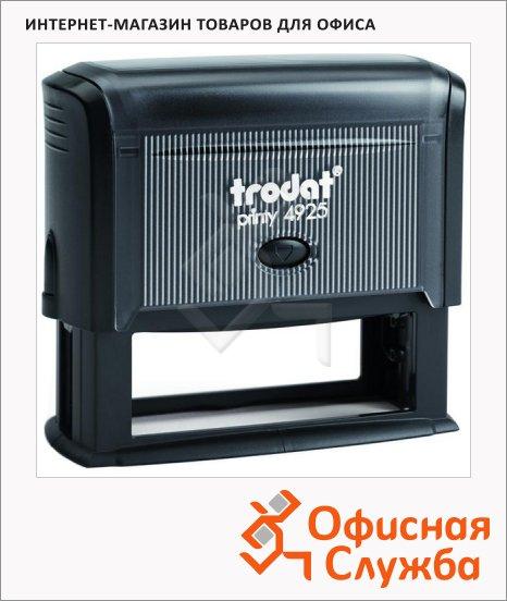 Оснастка для прямоугольной печати Trodat Printy 82х25мм, 4925, черная