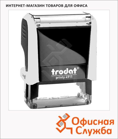Оснастка для прямоугольной печати Trodat Printy 38х14мм, 4911, белая-черная