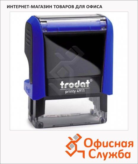 Оснастка для прямоугольной печати Trodat Printy 38х14мм, 4911, синяя