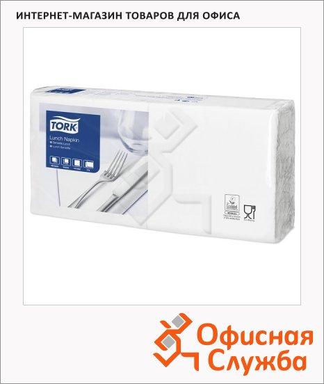 Салфетки сервировочные Tork Advanced белые, 33х33см, 2 слоя, 200шт, 477149