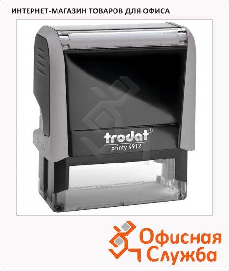 Оснастка для прямоугольной печати Trodat Printy 47х18мм, 4912, серая