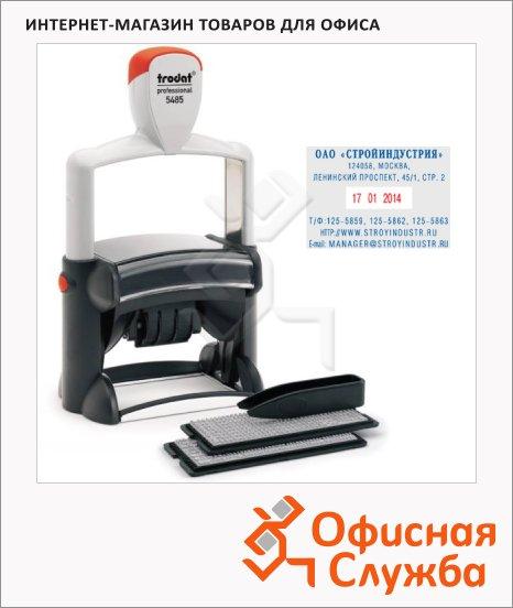 ����� ������������ Trodat Professional Typomatic 6 �����, 68x47��, 4��, 5485 Bank