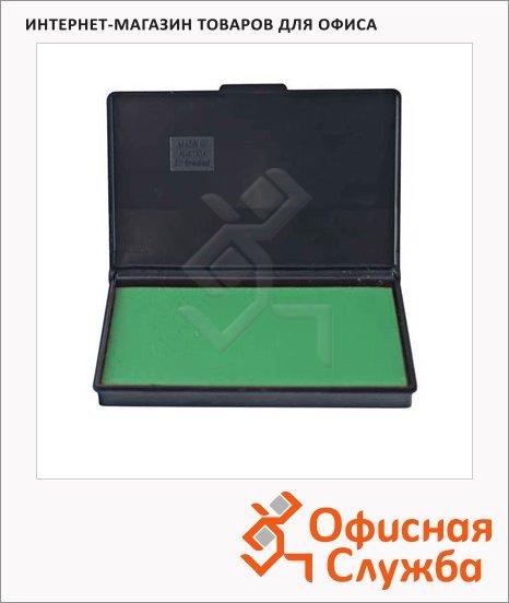 фото: Штемпельная настольная подушка Trodat 110х70мм краска на водной основе, зеленая