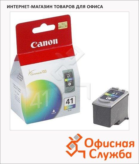 фото: Картридж струйный Canon CL-41 цветной